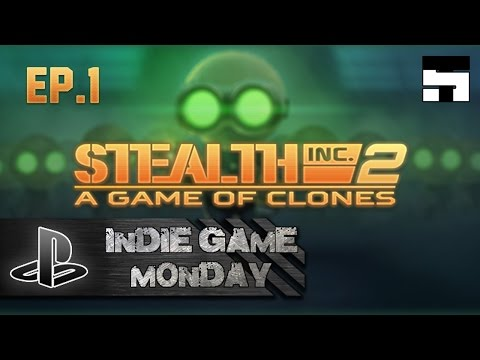 Stealth Inc 2: A Game of Clones | INDIE GAME MONDAY |