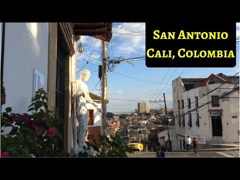 Barrio San Antonio in Cali, Colombia. It's Cheap, Beautiful, and Ideal for Travelers.