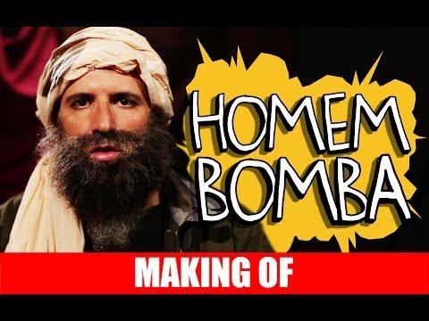 Making Of- Homem Bomba