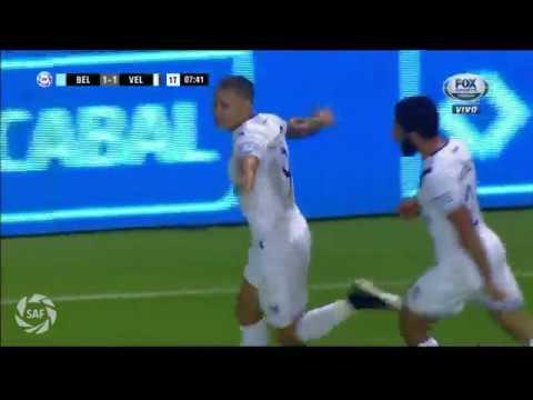 Gol de Mauro Zárate a Belgrano de Córdoba (1-1)