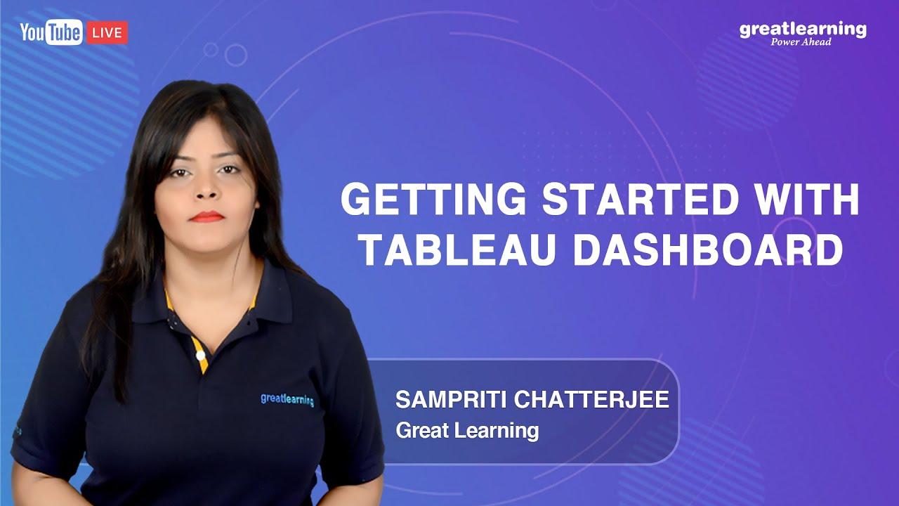 Getting started with Tableau Dashboard | Tableau Dashboard Tutorial