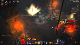 Diablo 3 Demon Hunter - T2 Rift Farm #2 [4-Set Marauder]