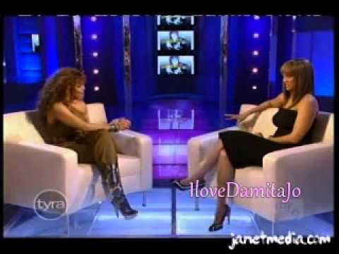 Janet Jackson @ The Tyra show 2008 part 1
