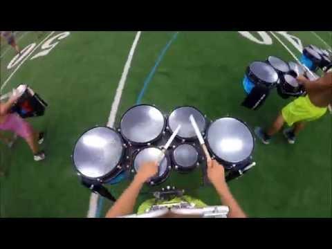 Blue Devils 2016 Quad Cam - Miles Kenobbie