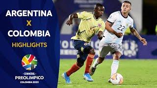 Argentina 2-1 Colombia l Preolímpico 2020