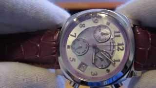 Обзор женских наручных часов Stuhrling Lifestyles Fiorenza Swarovski Crystal Day Date 246.1115Q78