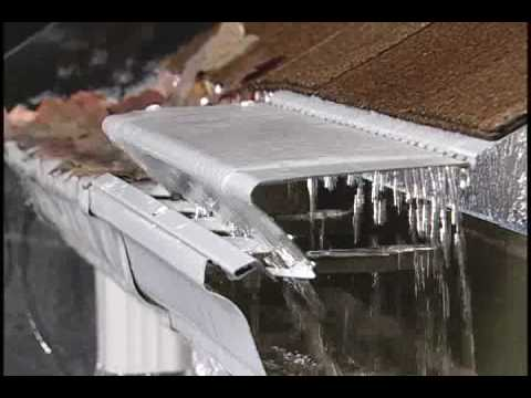 Leafx Gutter Covers Guaranteed To Keep Gutters Clean Youtube