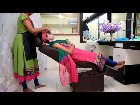 All in one Beauty Parlour Chair - Facial, Threading, Pedicular Hair Washing Manicure