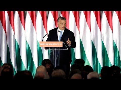 """Orbán: """"A keresztény civilizáció a tét, erről fogunk szavazni május 26-án"""""""