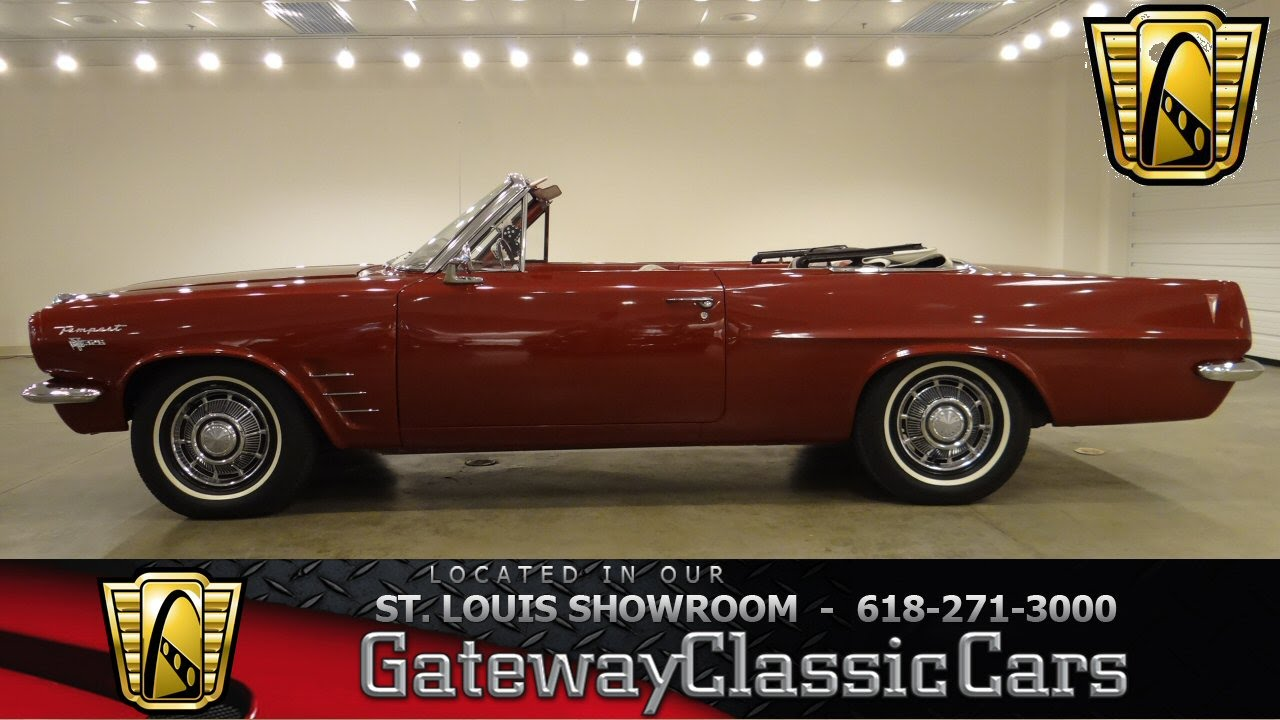 1963 pontiac tempest gateway classic cars st louis 6353 youtube