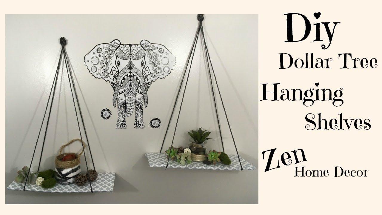 Dollar Tree Diy Hanging Shelves 3 Zen Home Decor