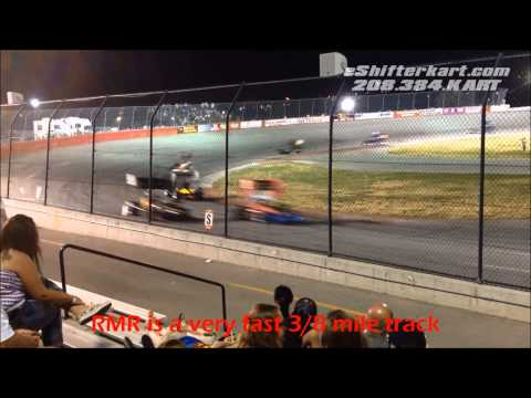Super Modified Racing @ Rocky Mountain Raceway July 4th Copper Cup - HD