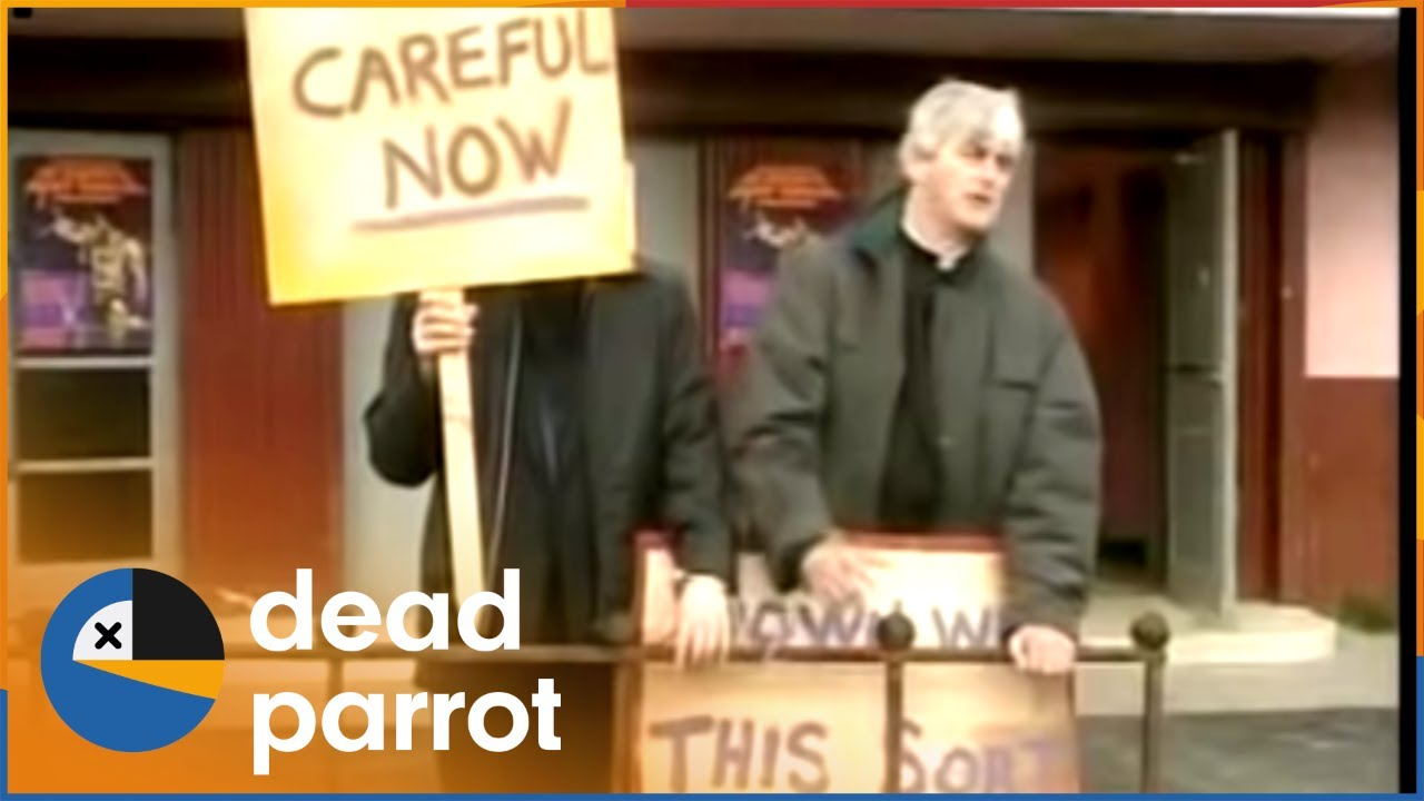 Download Blasphemous Film Protest at the Island Cinema | Father Ted S1 E3 | Dead Parrot