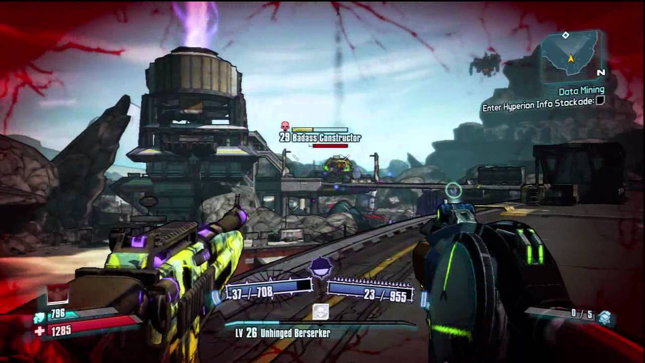 borderlands 2 how to kill badass constructor