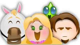 Tangled as told by Emoji | Oh My Disney