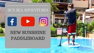 Sunshine Paddleboard - Set up and Paddle