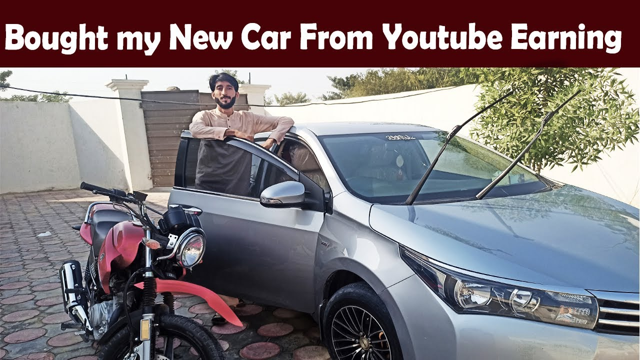 Download I Bought a new car from Youtube Earning. Alhamdulilah