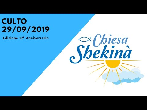 Culto Speciale 12° Anniversario 29/09/2019