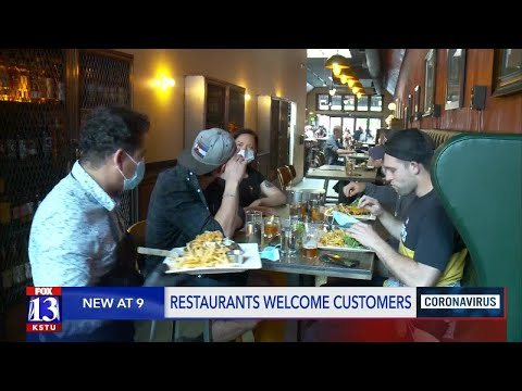 Salt Lake City Bars, Restaurants Invite Customers In For First Time In More Than 6 Weeks
