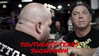 Arm Wrestling Southeast Texas Showdown: Left Hand plus Extras