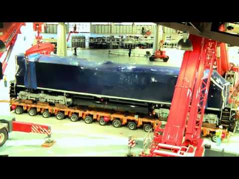 Electro Motive Diesel >> Electro Motive Diesel Emd Time Lapse For Minexpo 2012 With