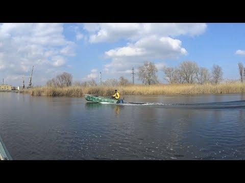 Ветерок 8 на лодке Казанка, открытие сезона