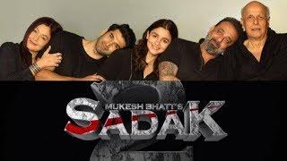 'SADAK 2' Movie Trailer/ Sanjay dutt / Alia bhatt / Pooja bhatt / Director Mahesh Bhatt