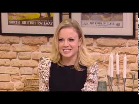 Joanne Clifton on Live at Five | 7th February 2017