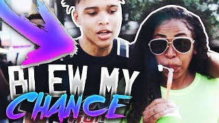 I BLEW MY CHANCES WITH A FAMOUS DANCER...🤦🏽♂️