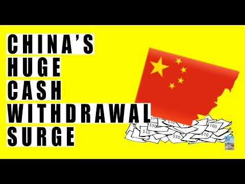 China MASSIVE SURGE In Cash Withdrawals At ATM's! Central Bank Confirmed This!
