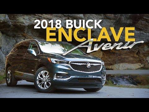 2018 Buick Enclave Review - First Drive | Buick Enclave Avenir