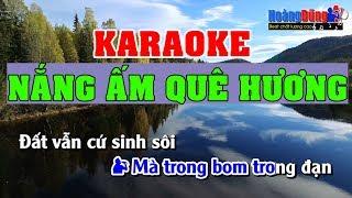 Nắng Ấm Quê Hương Karaoke Nhạc Sống