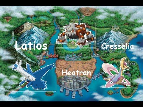how to get heatran in pokemon y
