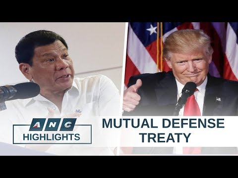 Defense analyst: Duterte's move to 'invoke' Mutual Defense Treaty meant to prompt response from U.S.