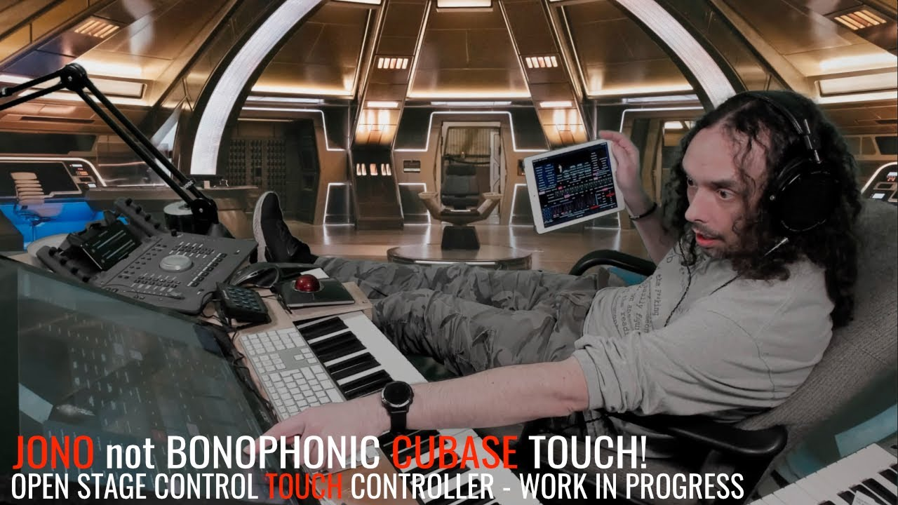The Jono not Bonophonic Cubase Touch Controller! (Open Stage Control) - More Work in Progress!