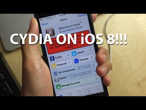 HOW TO: Install Cydia on iOS 8!