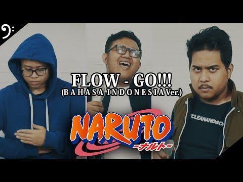GO!!! (Indonesia ver.) - FLOW (cover)| NARUTO Opening 4 (feat. Eno Bening, Alphiandi)