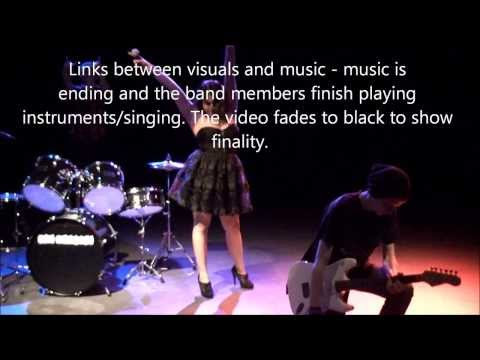 Goodwin's Theory - Links Between Visuals and Music and Lyrics