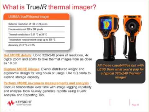 Temperature Measurement with a thermal imager Webinar engl Keysight