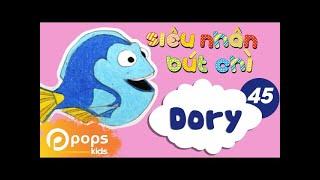 Hướng Dẫn Vẽ Dory - Siêu Nhân Bút Chì - Tập 45 - How To Draw Dory (from Finding Dory)