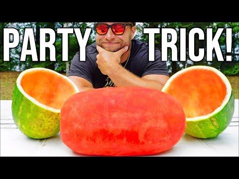 AMAZING Watermelon Party Trick!