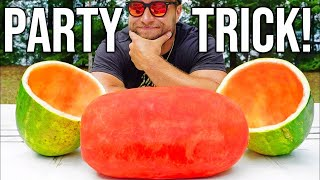 AMAZING Watermelon Party Trick!