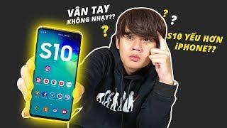 """TOP ĐIỀU """"CÓ THỂ BẠN CHƯA BIẾT"""" VỀ GALAXY S10!! - YẾU HƠN iPHONE, VÂN TAY KHÔNG NHẠY???"""