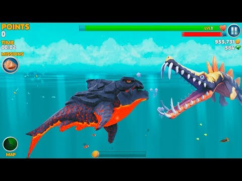 Hungry Shark Evolution Pyro Shark Android Gameplay #43