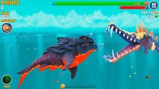 Hungry Shark Evolution Pyro Shark Android Gameplay #43