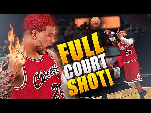 The FULL COURT SHOT Buzzer Beater! SO MUCH FIRE 2K CRASHED ON ME! - NBA 2K18 MyCAREER
