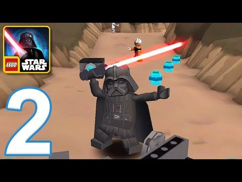LEGO Star Wars The New Yoda Chronicles - Gameplay Walkthrough Part 2 - The Dark Side (iOS, Android)