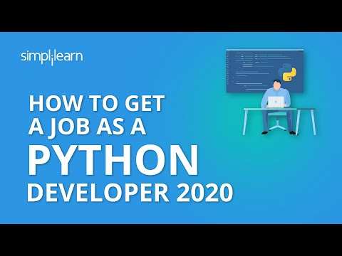 How To Get A Job As A Python Developer - 2020 | How To Get A Job As A Python Programmer |Simplilearn
