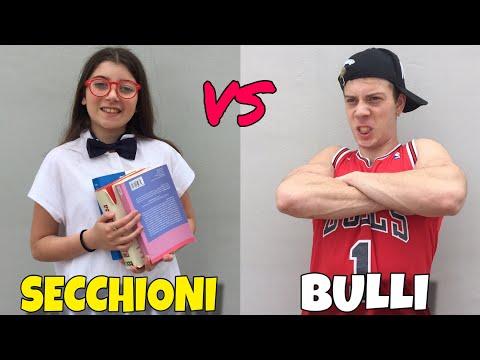 SECCHIONI VS BULLI A SCUOLA
