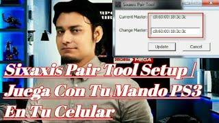 descargar Sixaxis Pair Tool Setup  Tu Mando PS3 En Tu Celular